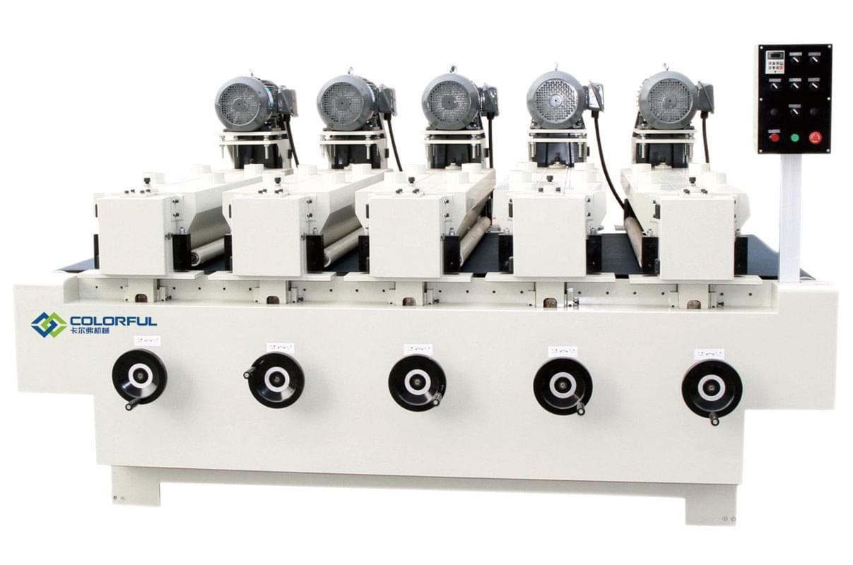 五头钢刷机
